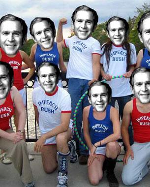 The Impeach Bush Jogging Circus